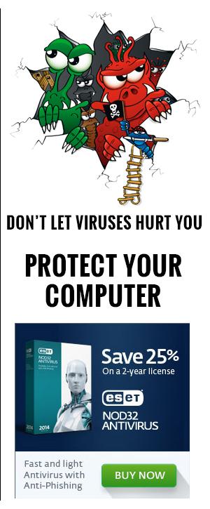 NOD 32 Antivirus ad